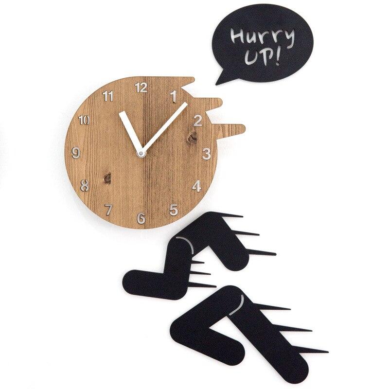 Horloge murale créative horloge salon personnalité moderne art café horloge murale silencieuse KT7161111