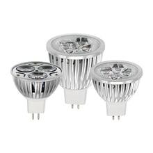 1 x MR16 bombilla foco de LED 9W 12W 15W AC DC 12V Bombillas regulables lámpara reemplace 20W 30W 40W halógeno Bombillas de Lamparas de la luz del punto