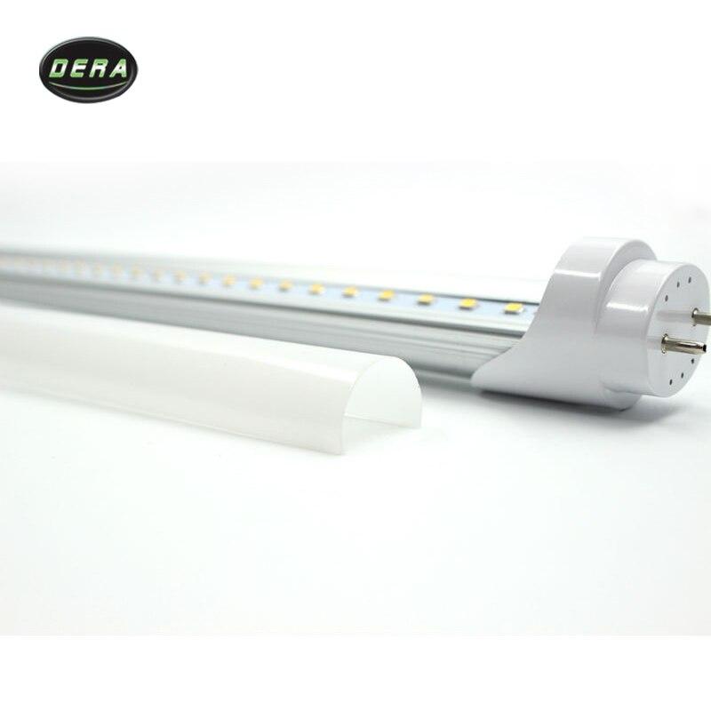 25/50 шт T8 2FT 600 мм 9 w Светодиодный свет пробки SMD 2835 супер Яркость AC110 277V lamparas светодиодная флуоресцентная лампа трубы 604 мм - 4