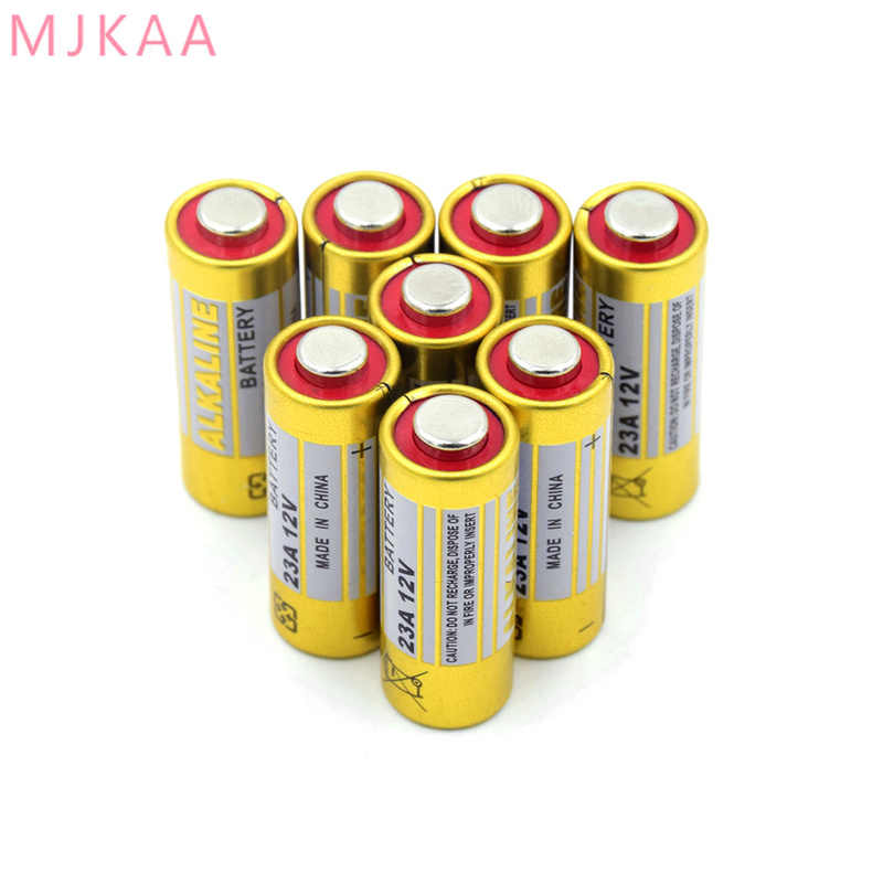 8 шт 12 V 23A 23AE 23GA A23 A23S E23A EL12 3LR50 V23GA MN21 L1028 MS21 RV08 VR22 GP23A 21/23 K23A сухие щелочные батарейки