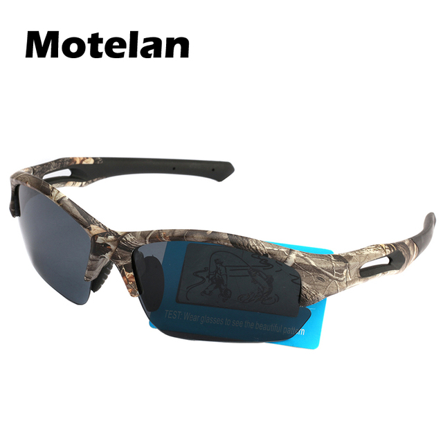 0a69a4ef71 Dropshipping Hunting Camo Polarized Sunglasses Outdoor Polaroid Reduce Sun  Glasses TR90 Cycling Driving Fishing Hunting Goggles