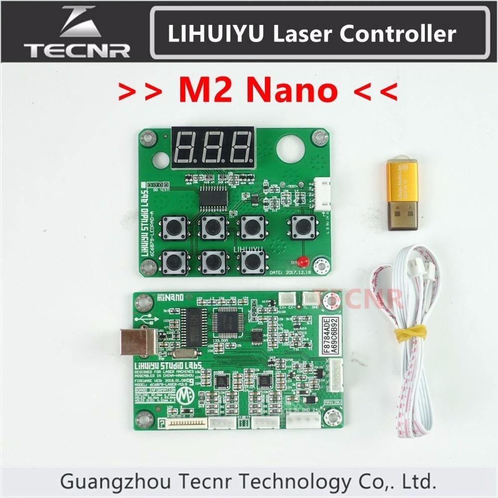 TECNR LIHUIYU Nano M2 Co2 Laser Main Board Dongle B Control Panel Board CorelLaser CO2 Laser