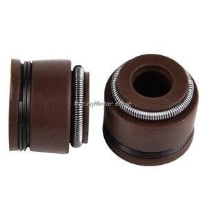 Image 5 - NICECNC 5mm Motor Ventil Stem Öl Dichtung Für Honda C70 CL70 XL70 SL70 CA175 CB175 CB450 CL90 CT90 S90 CB750 Z50A XR250R CRF230 # #