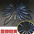 Médico plástico microperforado uso & titanium de acero inoxidable tijeras cortador de alambre de aleación de soporte de la aguja de sutura fórceps del tejido