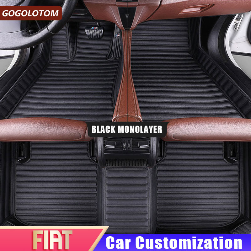 10 on FIAT PUNTO EVO 2 Clip Tailored Car Floor Mats