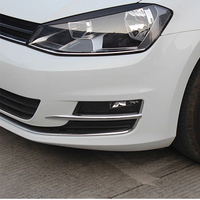 Free Shipping High Quality ABS Chrome Front Fog Lamps Cover Trim Fog Lamp Shade Trim For