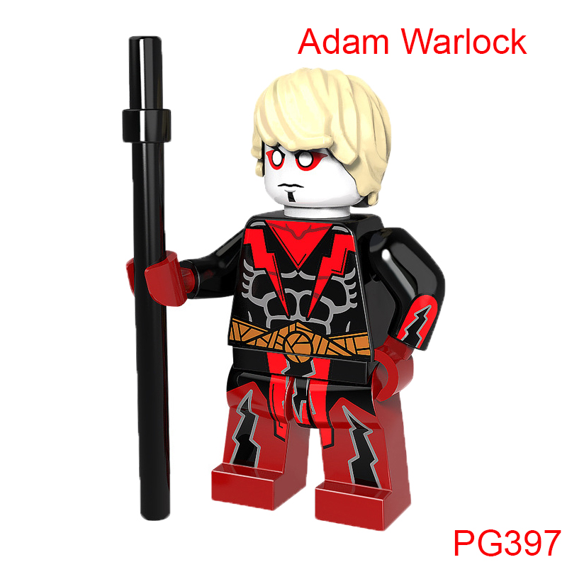 Single Sale Building Blocks Fantastic Four Adam Warlock Super Heroes Star Wars Mini Bric ...