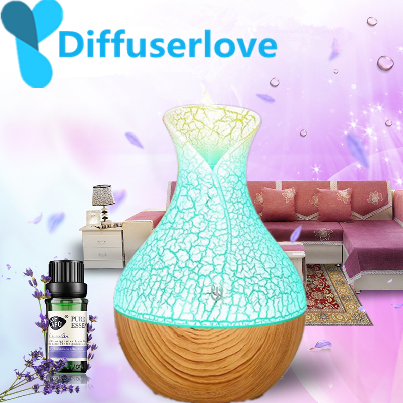 Diffuserlove 130ml wood Grain Electric Air Humidifier Ultrasonic Essential Oil Diffuser Aroma Treatment 7 Color LED Night LightDiffuserlove 130ml wood Grain Electric Air Humidifier Ultrasonic Essential Oil Diffuser Aroma Treatment 7 Color LED Night Light
