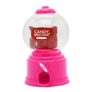 Image 4 - かわいいクリエイティブ甘いミニキャンディマシン貯金箱子供のおもちゃガールフレンドいとうギフト砂糖ディスペンサーボトル8.5x14cm