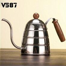 900ML Stainless Steel Coffee Pot Kettle Teapot Home Kitchen Coffee Shop Coffee Brewing Helper Coffee Drip Kettle Pot Houseware