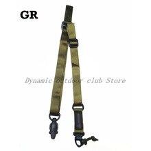 Frete grátis hanwild qualidade superior ms2 tático multi missão rifle sling arma cinta sistema de montagem conjunto