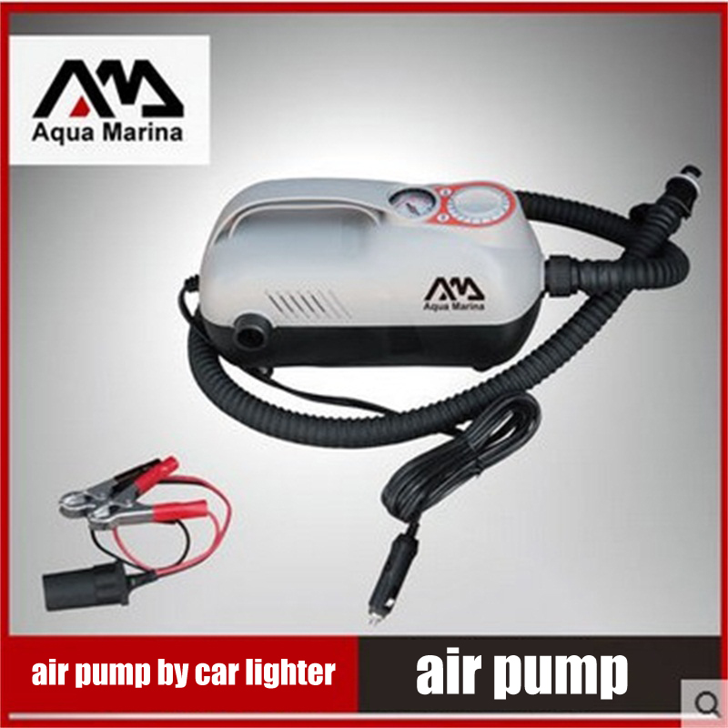 Multi-fuction DC 12V Elair Pump For Inflatable Boat Dinghy Raft Sup Board Stand Up Paddle Surf Board Surfboard Body Board C73001