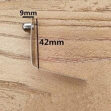 Spring-Clip Button-Diameter-X-9mm for Tube Height 8mm Width-X-42cm-Length 50PCS Push-Button