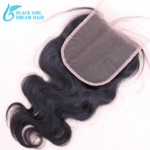 Virgin Peruvian Hair 5×5 Lace closure Body Wave,Top Quality Lace Closure Bleached knots With Baby Hair DHL Free Shipping