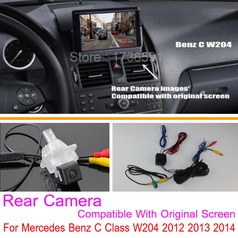 Online shop lyudmila for mercedes benz c class w204 2012 2013 2014 online shop lyudmila for mercedes benz c class w204 2012 2013 2014 rca original screen compatible car rear view back up reverse camera aliexpress cheapraybanclubmaster Image collections