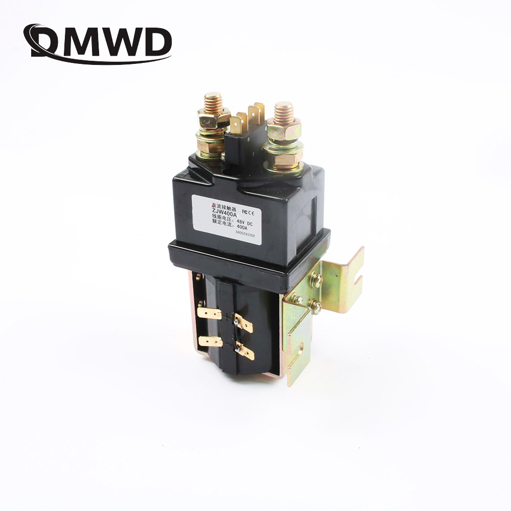 SW200 normally open 12V 24V 36V 48V 60V 72V 400A DC Contactor ZJW400A for forklift handling drawing wehicle car PUMP MOTOR free shipping 12v 24v 36v 48v 72v battery meter digital voltage gauge for electric vehicles forklift truck club car