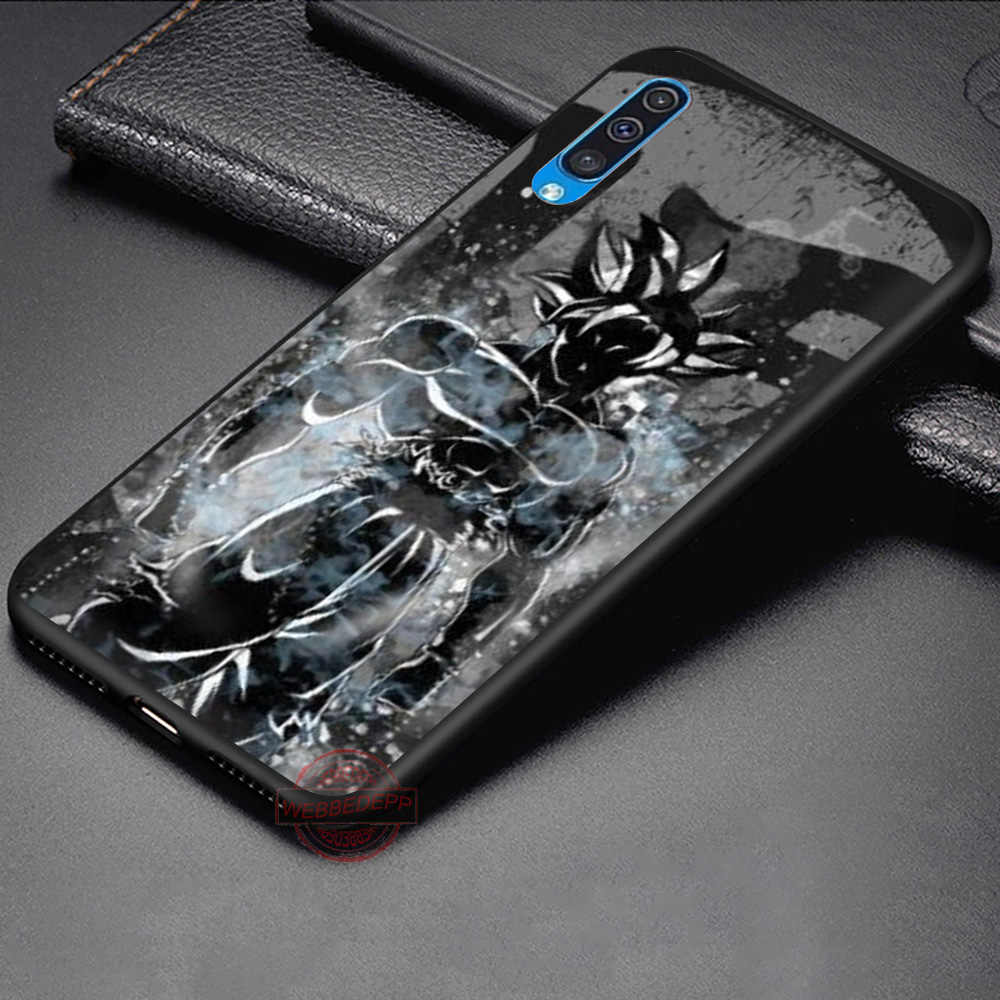WEBBEDEPP de Dragon Ball Z Super DBZ Goku Saiyajin suave caso para Samsung A3 5 5 5 6 6 7 8 9 J6 A10 A20 A30 A40 A50 A60 A70 M10 M20 M30 M40