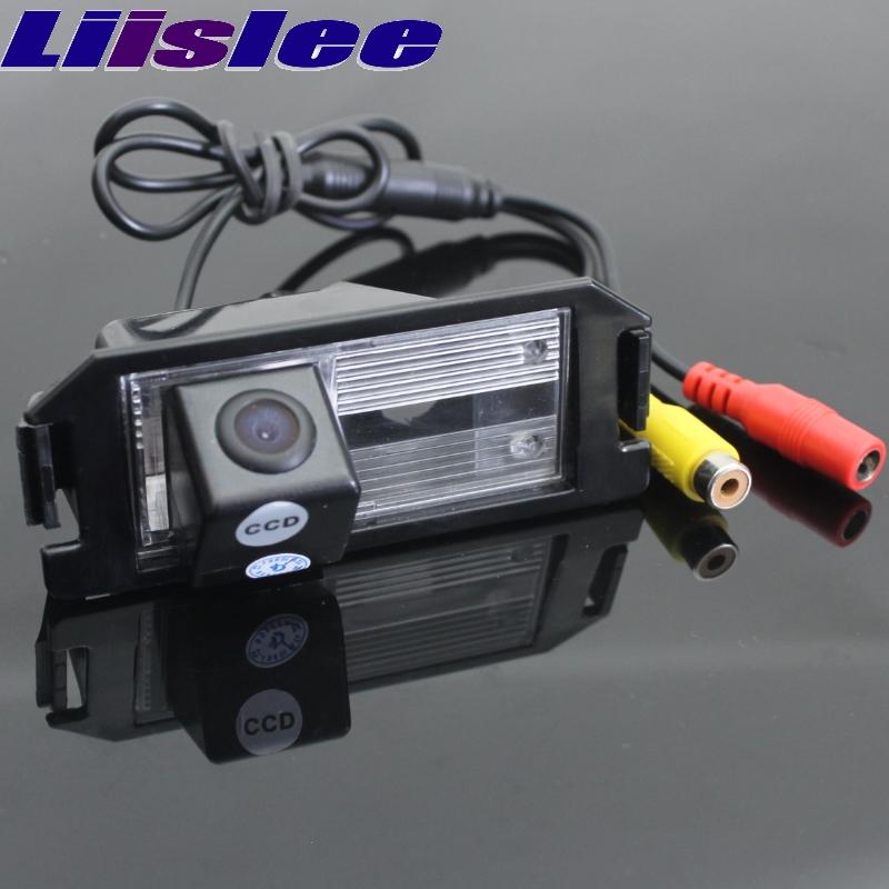 LiisLee For Hyundai Genesis Coupe 2008~2013 Car Rear View Backup Reverse Parking Camera Night Vision CAM Waterproof CAM