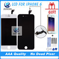 10PCS/LOT AAA Quality 4.7 inch For  iPhone 6 LCD Complete Display Screen with Touch Glass Digitizer Assembly Replacement DHL