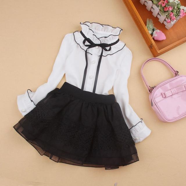3884cd45edb Модные шифоновые блузки для больших девочек
