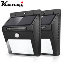 Wireless Security Motion Sensor Solar Night Lights 2835 8 12 20 46 LEDs Bright and Waterproof for Outdoor Garden Wall RV