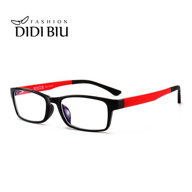 8ec25c6980 DIDI Anti Blue Ray Computer Glasses Women Vintage Small Rectangle TR90 Frame  Gaming Eyeglasses Men Optical Frames Eyewear UN917