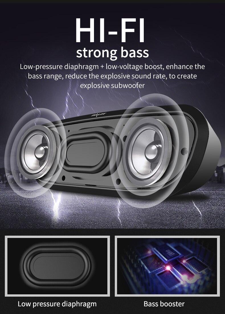 ZEALOT S9 Portable Wireless Bluetooth 4.0 Speaker Support ZEALOT S9 Portable Wireless Bluetooth 4.0 Speaker Support HTB1YtMoPFXXXXcUXFXXq6xXFXXXx
