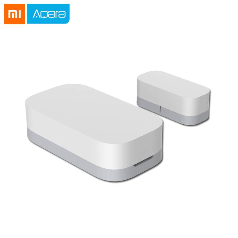 2018 Xiaomi Aqara Door Window Sensor Zigbee Wireless Connection Smart Mini Door Sensor Work With Android IOS App Control