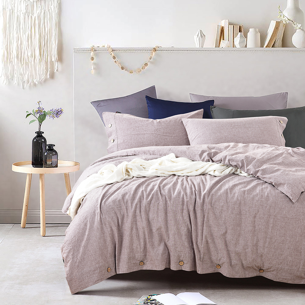 100% Linen Stone Wash Duvet Cover Set Luxury Bedding Sets Twin Queen King Bed Linen Solid Bedclothes High Quality Home Textile