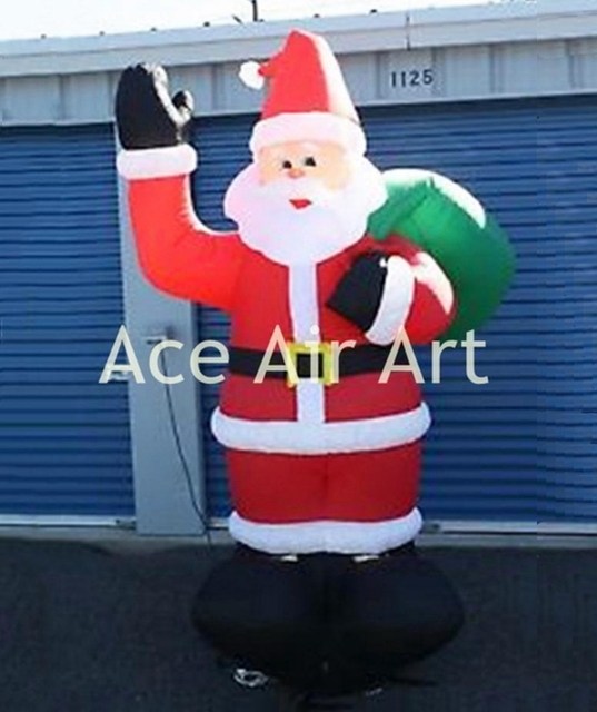 giant inflatable christmas santa claus 2017 inflatable christmas santa decorations for xmas mall show