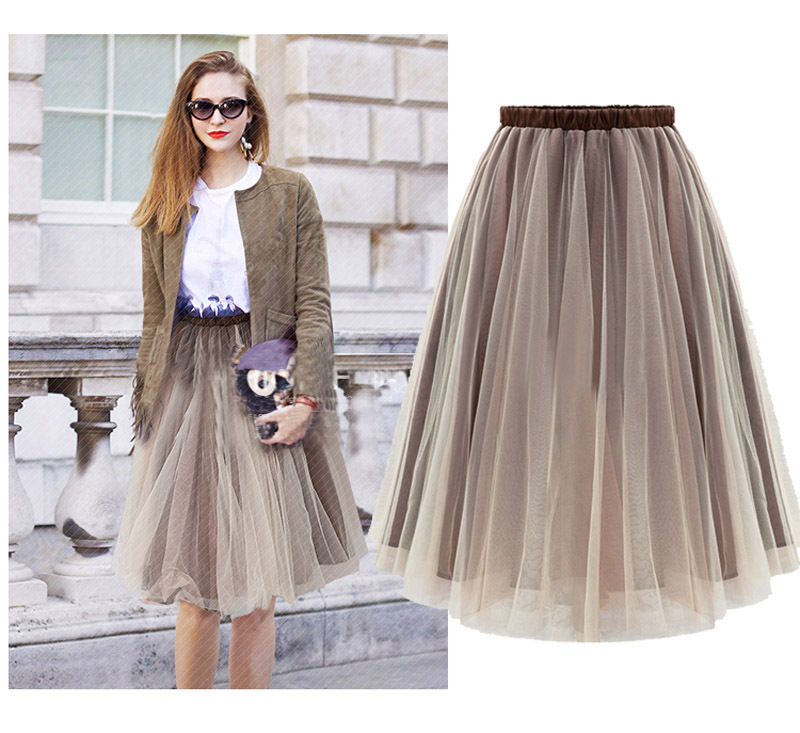 Aliexpress.com : Buy Summer Style Ladies Women Tulle Skirt Plus ...