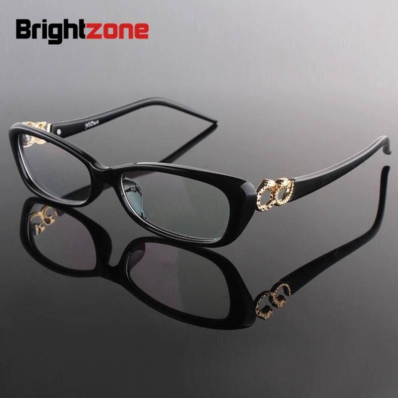 2017 Neue Ankunft Frauen Katzenauge Polycarbonat Vollrand Myopie Optische Brillen Rahmen Brillen Brillengestell Angenehm Zu Schmecken