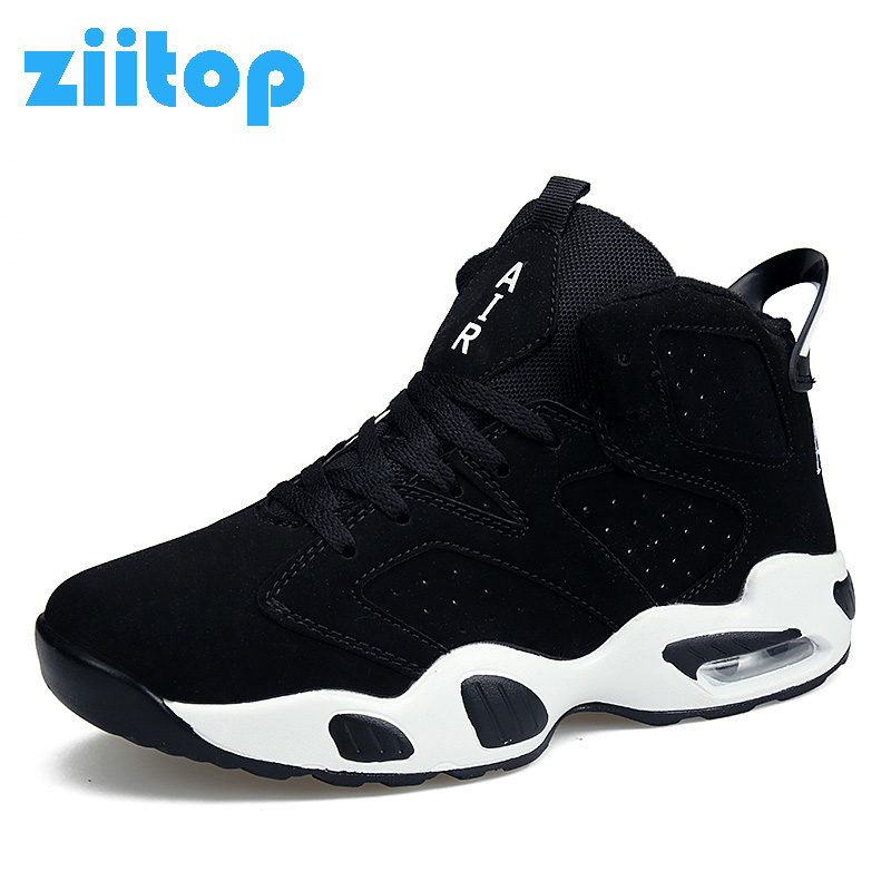 Unisex Sneakers Men Basketball Shoes Air Cushion Trainers High Top Outdoor Women Sport Shoes Basket Femme Zapatos Hombre basquet