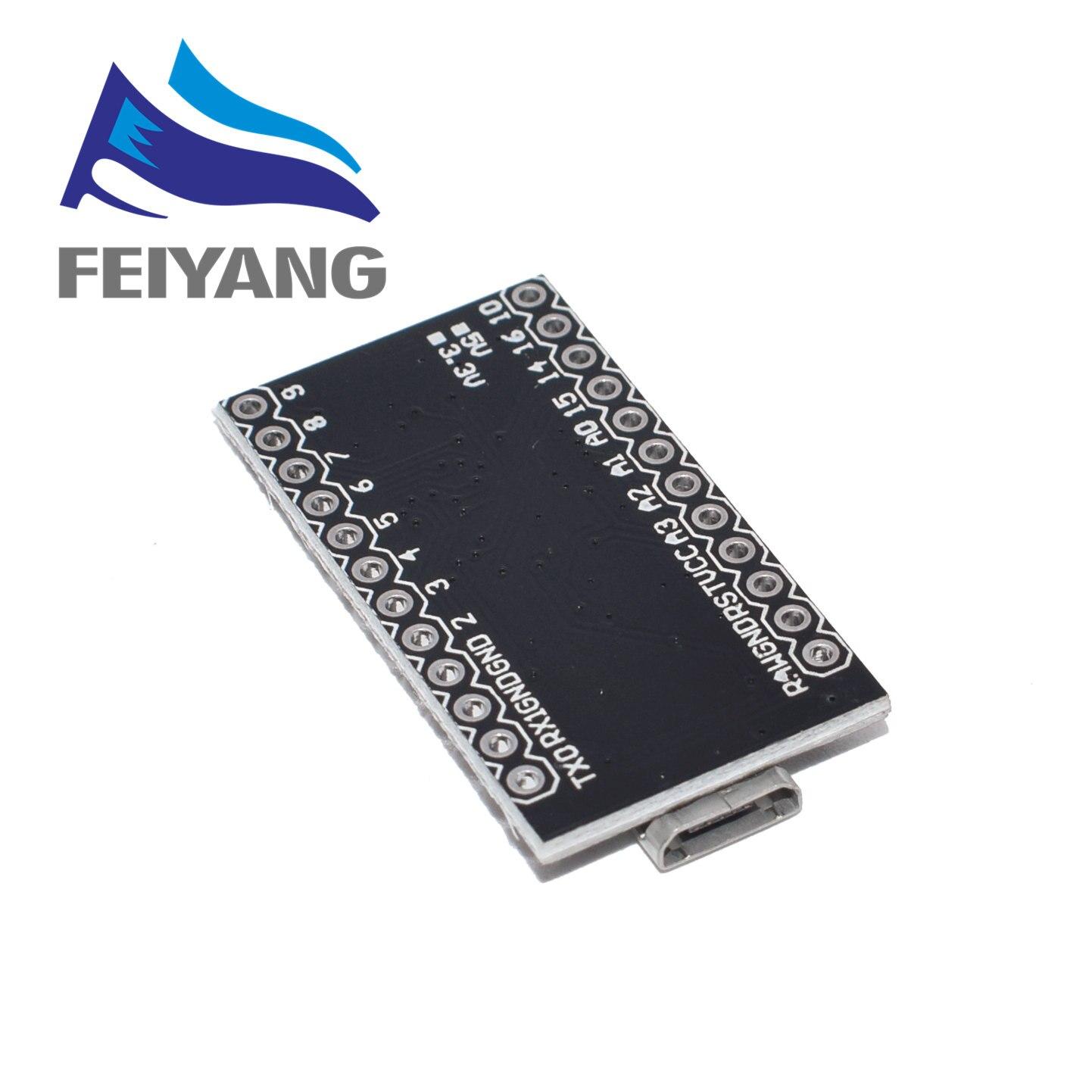 10pcs With the bootloader New Pro Micro ATmega32U4 ATMEGA32U4-AU 5V/16MHz Module controller