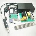 STM32 Controlador OLED Para T12 T12 Solda Ferro de Solda de Solda Dicas de Alimentação Caso Capa Alça