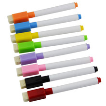 1000pcs Whiteboard Marker Magnetic Whiteboard Pen Dry Erase White Board Markers Magnet Pens Eraser Office School Supplies 1pc high quality flannel magnetic whiteboard eraser office plastic marker cleaner eraser for school stationery supplies