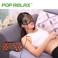 POP RELAX Korea Tourmaline Germanium Thermal Eye Mask Health Electric Heating Therapy Eye Care Traveling Facial