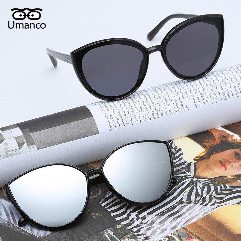 Umanco 2019 New Luxury Business Cat Eye Sunglasses For Women Men Fashion Designer Brand Girl Glasses Beach Travel Gifts Women S Sunglasses Aliexpress