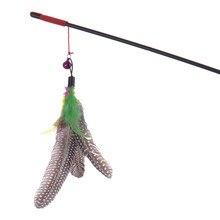 Bird feather cat teaser toy