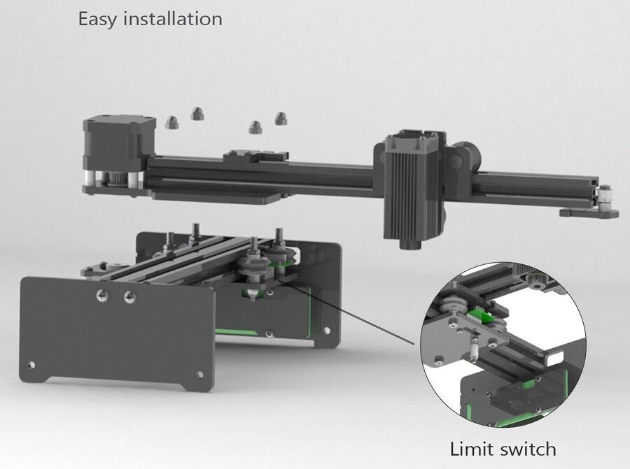 NEJE MASTER 3500mW /7W Laser Engraving Machine DIY Mini CNC