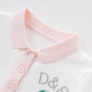 Image 4 - DB7614เดฟเบลล่าเด็กสาวกีฬาชุดเด็กทารกเด็กวัยหัดเดินผ้าฝ้าย100%เสื้อผ้าเด็กฤดูร้อนน่ารักลูกเล่นชุด