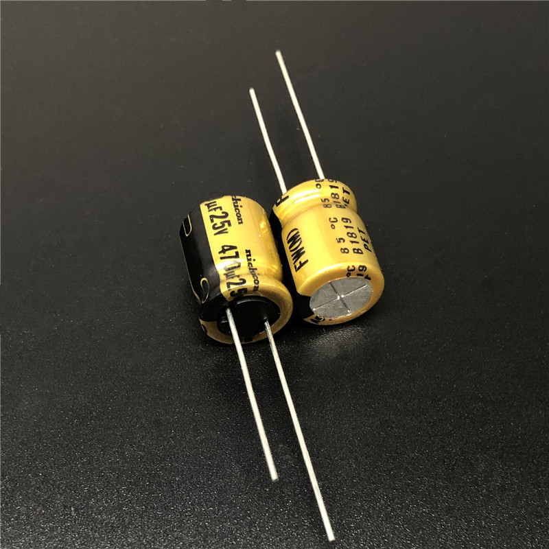 2PCS Japan NICHICON 470uF//25V High-end MUSE BP Audio Electrolytic Capacitor