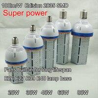 Süper parlaklık E40 E27 LED Mısır Ampul Lamba işık 60 w 40 w 30 w 20 w Silindir şekli 20 w 100 W Metal Halide Değiştirin aydınlatma