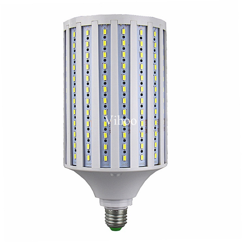 LED Bulb Lamp E27 E40 B22 E26 E39 Corn Spot Light 50W 60W 80W 100W 5730 5630 SMD Lampada 110V 220V Cold Warm White Lights 5PCS