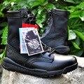 Hombres Tobillo Botas de Combate Botas Tácticas Desierto Militar de Seguridad Laboral Comfort Boots Botas de Senderismo Al Aire Libre Más El Tamaño 37-47