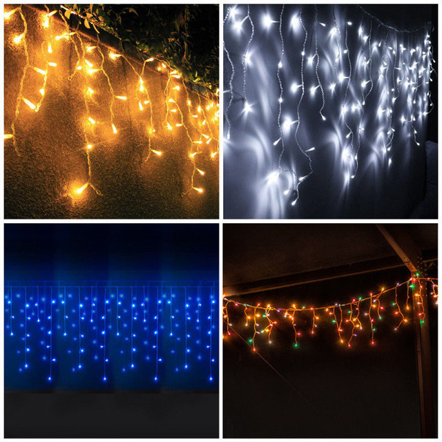 Wholesale LED Ice Storm Christmas Lights Christmas Lights Icicle Outdoor  Lights Chain Party LED Lamp #0209 - Aliexpress.com : Buy Wholesale LED Ice Storm Christmas Lights