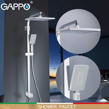 GAPPO Shower Faucet shower heads waterfall massage shower torneira do anheiro wall mounted shower sets rainfall - DISCOUNT ITEM  52% OFF All Category