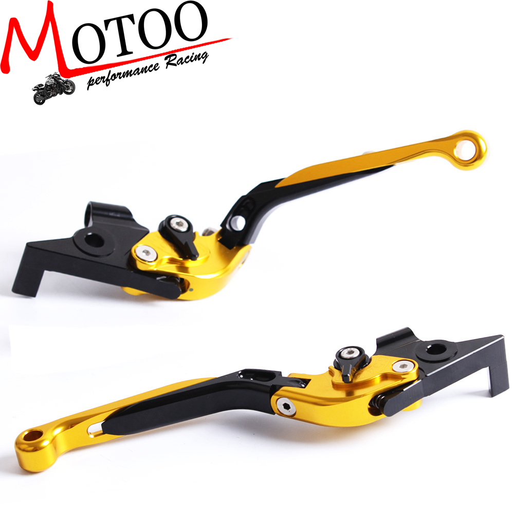Motoo - R-34 L-43 Adjustable CNC 3D Extendable Folding Brake Clutch Levers For Yamaha TMAX 500 TMAX TMAX 530 TMAX500 TMAX530 2016 new cnc 3d feel foldable motorcycle brake clutch levers for yamaha tmax 500 2007 2008 2009