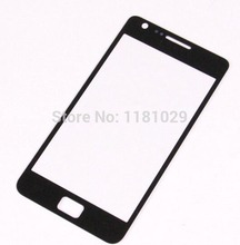 100pcs/lot DHL Shipping Front Glass Lens For Samsung Galaxy High Quality S2 i9100 with Logo Brand New High Quality