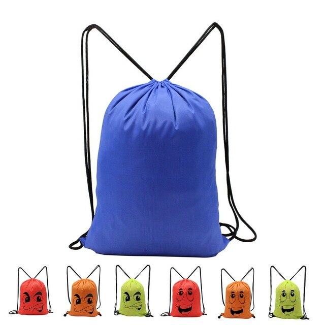 8dd2987fca Lightweight Outdoor Backpack Basic Drawstring Tote Sack Promotional  Backpack Bag Cinch Travel Bag Colorful Beach bag LT-001A